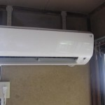 家庭用ルームエアコンの洗浄クリーニング|栃木県栃木市藤岡町のお客様