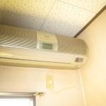 シャープの家庭用エアコンを洗浄クリーニング|栃木県小山市のT様邸にて分解洗浄