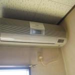 家庭用エアコン(お掃除機能付き)の洗浄クリーニング|栃木県足利市のE様邸にて分解洗浄